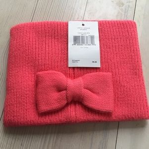 Kate Spade Bow Headwrap Costume Pink